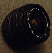 Promaster Spectrum 7 28-70mm Zoom 1: 3.5 4.5 Camera Canon Lens W/ Lens Hood