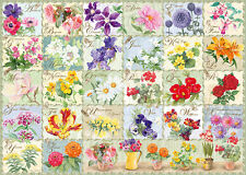 19514 RAVENSBURGER VINTAGE FLORA 1000PC [ADULT JIGSAW PUZZLE] NEW IN BOX!