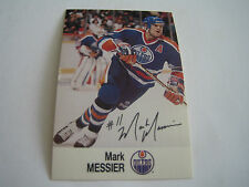 1988/89 ESSO NHL ALL-STAR COLLECTION MARK MESSIER CARD