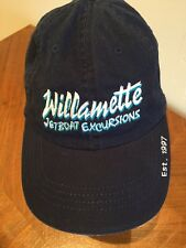 Willamette JetBoat Excursions Navy Blue Adjustable