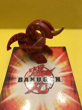 BAKUGAN Battle Brawlers B2 Customized Red Pyrus DRAGONOID 999 trillion G!