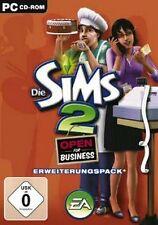 Die Sims 2 Open For Business DEUTSCH TopZustand