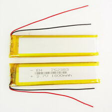 3.7V 1800mAh 752383 LiPo Polymer Battery cell For bluetooth psp gps mobile phone