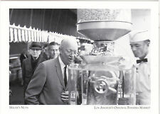 "+PC-""Pres. Eisenhower/Fresh Peanut Butter-Los Angeles Farmers Mkt (Postcard-#27)"