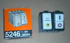 BTICINO MAGIC 5246 INTERRUTTORE SALVAVITA DIFFERENZIALE BIPOLARE 6A 250V