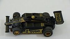 Tyco #1 DieHard F1 Indy Slot Car HO Scale for Electric Racing Race Tracks #10