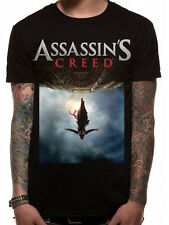 Assassins Creed Movie Poster T-Shirt Licensed Top Black L