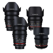 Rokinon Cine DS T1.5 Cine Lens Kit for Canon EF - 50mm + 35mm + 24mm + 85mm