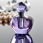 Hot Purple 1ml Crystal Glass Vintage Style Chirstmas Gifts Perfume Bottle-NEW