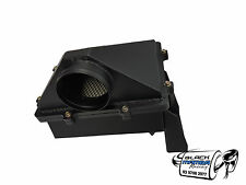 "GQ Nissan Patrol High flow airbox 4"" in & out Black TD42 TB45 Turbo LS1 LS3 etc."
