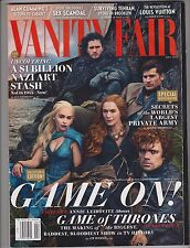 VANITY FAIR MAGAZINE April 2014, Game of Thrones Cover.