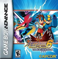 Mega Man Battle Network 6: Cybeast Falzar - Game Boy Advance GBA Game