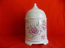 Lenox Butterfly Meadow Cookie Jar with Lavender Flowers Limited Edition