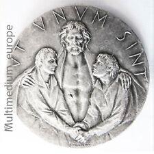 1975 Medaille VATIKANSTADT JUBILÄUMSJAHR Ut Unum Sint signiert D. Colombo