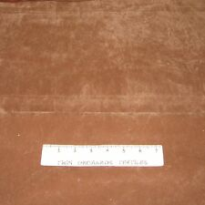 "Faux Artificial Leather Vinyl - Coarse Brown Texture - 54"" Wide x YARD"
