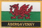 Abergavenny Cymru Wales Town & City Embroidered Sew on Patch Badge