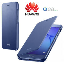 Flip Cover ORIGINALE HUAWEI Per P8 Lite 2017 Custodia Ultra Slim in Pelle BLU
