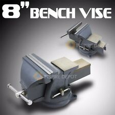"8"" Bench Table Top Swivel Mechanics Vise Clamp Press Metal Milling Locking Shop"