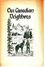 Our Canadian Neighbors Public Library of Fort Wayne Indiana Brochure 1954