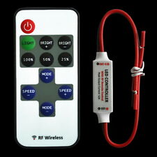 12V RF Wireless Remote Switch Controller Dimmer for Mini LED Strip Light New SN