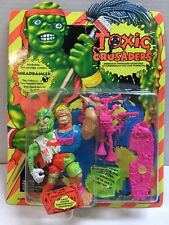 NEW Toxic Crusaders Headbanger Unpunched Numbered Collector's Edition MOC 1991
