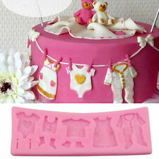 3D Baby Shower Silicone Fondant Mould Cake Decorating Chocolate Baking Mold Tool