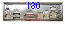 IO shield Blende ASRock H61M-DGS M3A780GM-LE 880GM-LE FM2A75M-DGS R2.0 #G427 XH