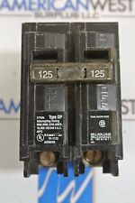 Refurbished Siemens Q2125 Circuit Breaker  125 AMP 2 Pole Type QP 120/240v *QTY*
