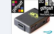 2G Sim Card For GPS Tracker Tracking PAYG GPRS style Old Type £15 CREDIT loaded