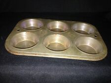 VINTAGE ECHO #6 CHICAGO CUP CAKE MUFFIN TIN