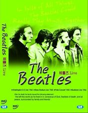 The Beatles Live 4concerts DVD NEW Factory Sealed