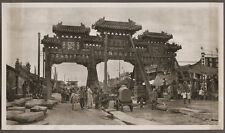 1920's CHINA GRAVURE PAGEANT OF PEKING DONALD MENNIE - A STREET IN OLD PEKING
