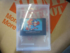 SONIC THE HEDGEHOG 2 VIDEO GAME CARTRIDGE SEGA MEGA DRIVE RARE VINTAGE