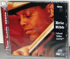OPUS 3 Hybrid SACD 22002: Eric Bibb - Just Like Love - Germany 2001 Near MINT