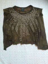 Fab ALLSAINTS oversized Ladies Hand Dyed Top-size UK 12. VGC