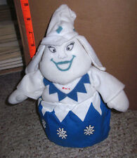 STORMELLA plush doll Evil Ice Queen 1998 Rudolph movie toy Whoopi Goldberg toon