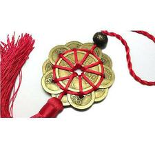 Feng Shui Chinese Coins Coin for good Luck PROSPERITY PROTECTION Charm Tassel JB