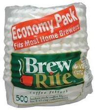 Universal Basket Style Paper Coffee Maker Filters 45-501A 500 Count 3-Pack