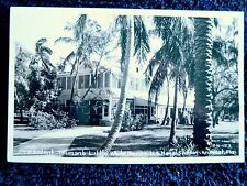 1940's RPPC Truman's Little White House in Key West, FL Florida PC Cline
