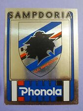 FIGURINE PANINI CALCIATORI SCUDETTO N.241 SAMPDORIA 1986-87 86-87  NEW - FIO
