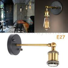 E27 Vintage Retro Industrial Modern Sconce Bar Pub Lampade da parete Holder