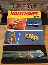 Matchbox DDR Händlerkatalog A-4 sehr seltenen Messe Leipzig Ausgabe von 1974