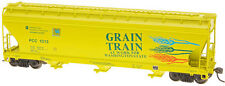 Intermountain HO-Scale ACF 4650 Cu. Ft. Covered Hopper Grain Train/Washington
