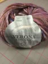 2102 Romance King Cole Verona Chunky Mohair Wool Yarn 50g Pink Purple White