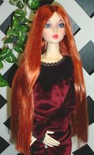 "DOLL Wig, Monique Gold ""Paris"" Size 5/6 in Carrot Red"