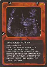 """Doctor Who MMG CCG - Character """"The Destroyer"""" Card"""