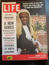 Life Magazine Speaker of the House Ghana 1960 Newsstand No Label