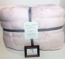 POTTERY BARN DESIGNER MONIQUE LHUILLER ETHEREAL LACE QUILT PINK NEW NWT