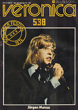VERONICA 1974 nr. 30  - SCHLAGERFESTIVAL 1974 SPECIAL (COVER JÜRGEN MARCUS)