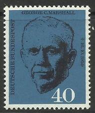 WEST DEUTSCHLAND SG: 1258. 1960. Gen Marshall Gedeken Mint Never Mit scharnier